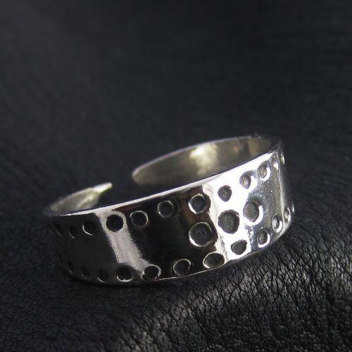 Silver Viking ring. Reenactment. Medieval. Norse. Scandinavia. SCA.