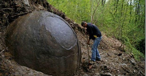 Esfera gigante de ferro encontrada nas florestas da Bósnia | Rama na Vimana