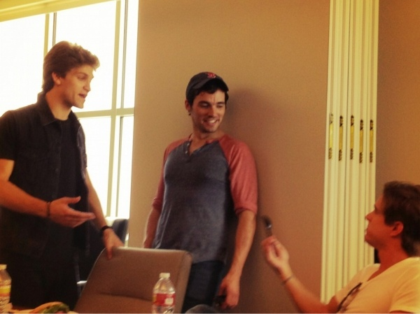 Keegan, ian, and drew #pll