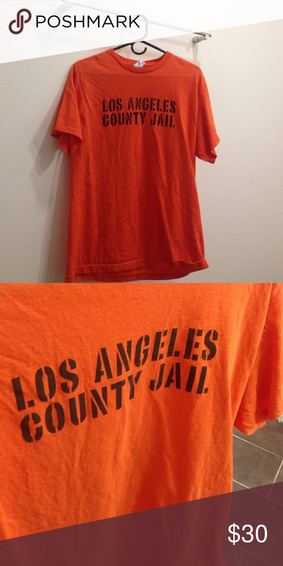 American Apparel LA County Jail Shirt Never worn. Limited addition!! American Apparel Shirts Tees - Short Sleeve