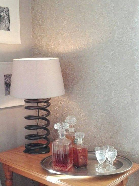 Truck Spring Table Lamp.  This sturdy lamp makes an impression.   Weighing in at around 5 to 8kg.  Decorate your industrial chic apartment or office with our range of industrial lamps and chandeliers.  R1650.00