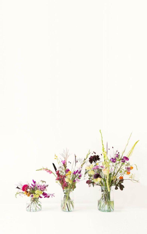 Bloomon - verbluffende bloemen (klein boeket met vaas)