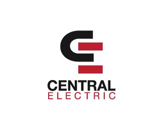 Central Electric Logo design - Logo design of the letter C and E.  Price $250.00