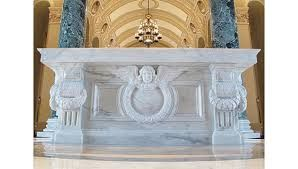 Image result for altars made out of marble