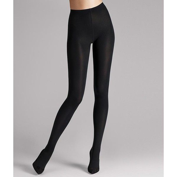 Wolford Matte 80 Denier Opaque Tights ($61) ❤ liked on Polyvore featuring intimates, hosiery, tights, opaque, women, wolford tights, opaque hosiery, matte tights, opaque tights and opaque stockings