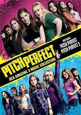 Pitch Perfect Movie 2012 & Pitch Perfect 2 Movie 2015, DVD, Factory Sealed, New