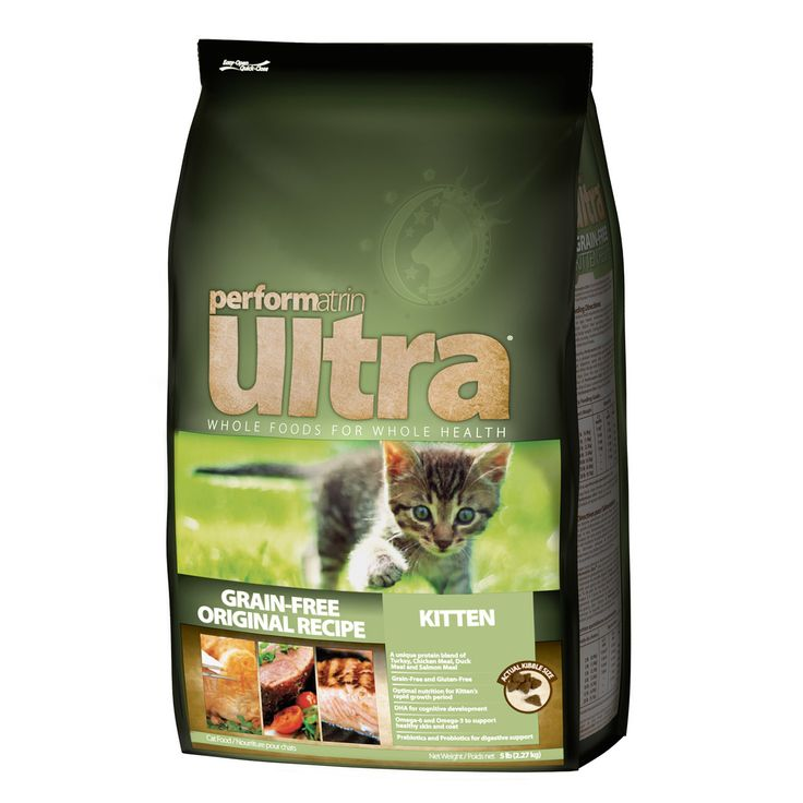 Performatrin ultra grainfree kitten recipe cat food 5lb