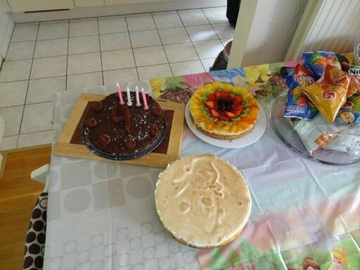 Taarten voor verjaardag Manouk