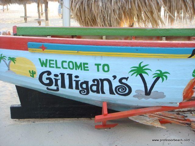 Gilligans Beach Bar~ Palm Beach, Aruba My favorite place. :-)