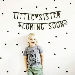 #Wordbanner #tip: Litlle sister coming soon - Buy it at www.vanmariel.nl - € 11,95