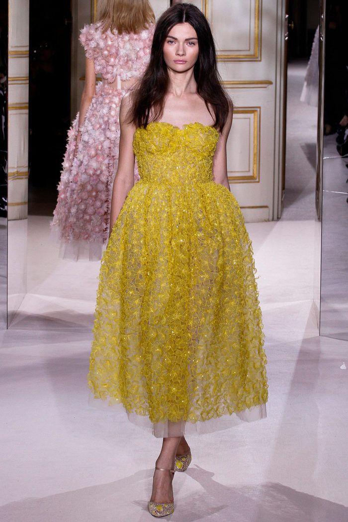 Baños Color Verde Limon:Giambattista Valli Haute Couture