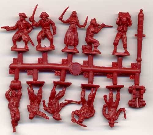 Plastic-Toy-Soldiers-Orion-1-72-English-Pirates-Sea-Warriors-XVIII-Century-72001