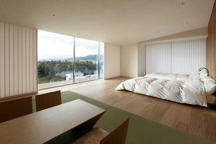 Kyoto Kokusai Modern Hotel Interior Design by Kengo Kuma - Zeospot