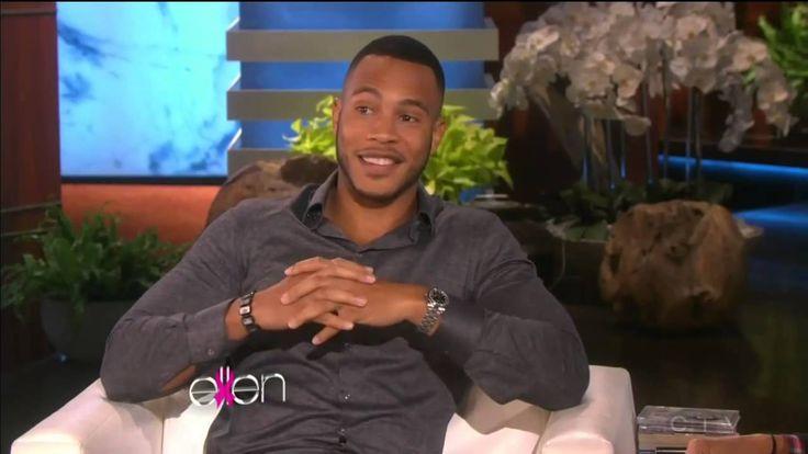 Trai Byers Andre from Empire Ellen TV Show Interview http://ift.tt/1iaeeeU