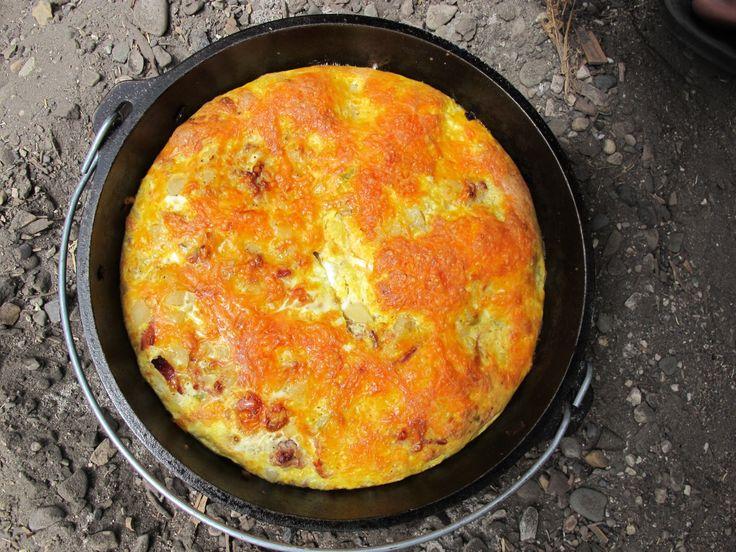 Mountain Man Dutch Oven Breakfast