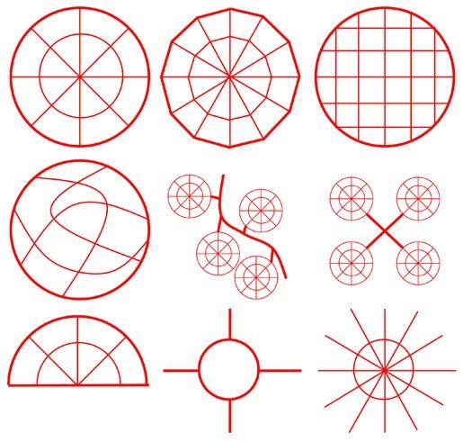 Urban Networks: Aproximación al círculo como estructura urbana: Ciudades circulares y otros trazados (parte segunda).