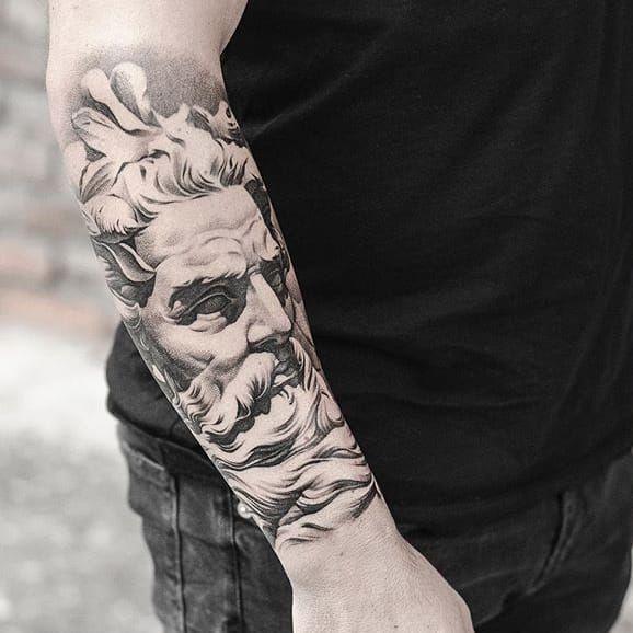 The 25 best zeus tattoo ideas on pinterest for Zeus tattoo designs