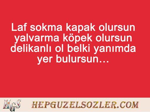 Arkadaşa Laf Sokan Sözler - 19 Resimli Laf Sokucu Söz