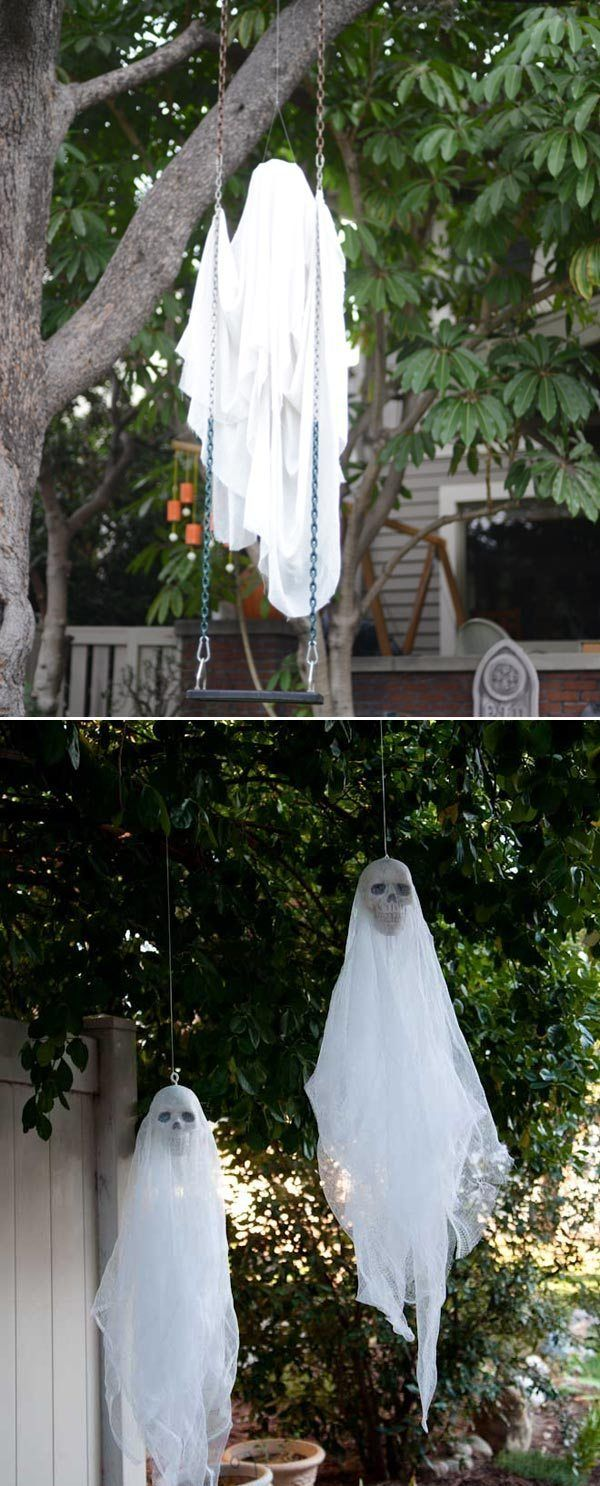 31 Scary Halloween Outdoor Decoration Ideas To Try For 2020 Scary Halloween Decorations Diy Halloween Outdoor Decorations Diy Halloween Projects