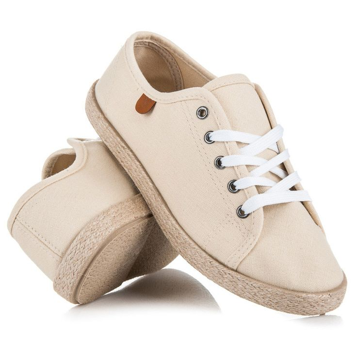 Laced espadrilles Extremely comfortable, breathable and lightweight shoes for spring and summer. Lining will provide a perfect fit for each foot. In these shoes you will feel confident, comfortable and always fashionable.https://www.cosmopolitus.com/snerovacI-dAmskE-espadrilky-odstiny-hnede-bezove-t01314be-p-247703.html?language=en&pID=247703 #Espadryle #summer #lace #boots #comfortable #lightweight #spring #fashion #trendy