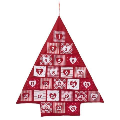 Reusable fabric advent calendar