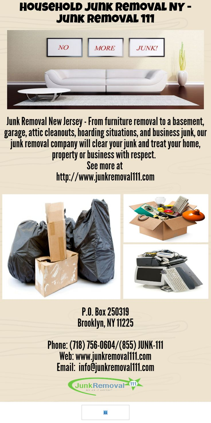 Junk Removal New Jersey - From furniture removal to a basement, garage, attic cleanouts, hoarding situations, and business junk, our junk removal company will clear your junk and treat your home, property or business with respect. - See more at http://www.junkremoval111.com