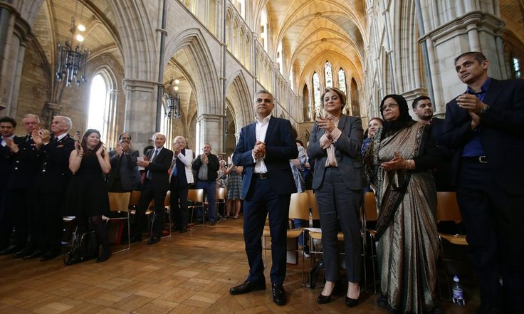 Sadiq Khan accuses Cameron of taking tactics 'from Trump playbook' New London mayor deplores attempts 'to turn ethnic communities against each other' during Zac Goldsmith's campaign 05.08.16