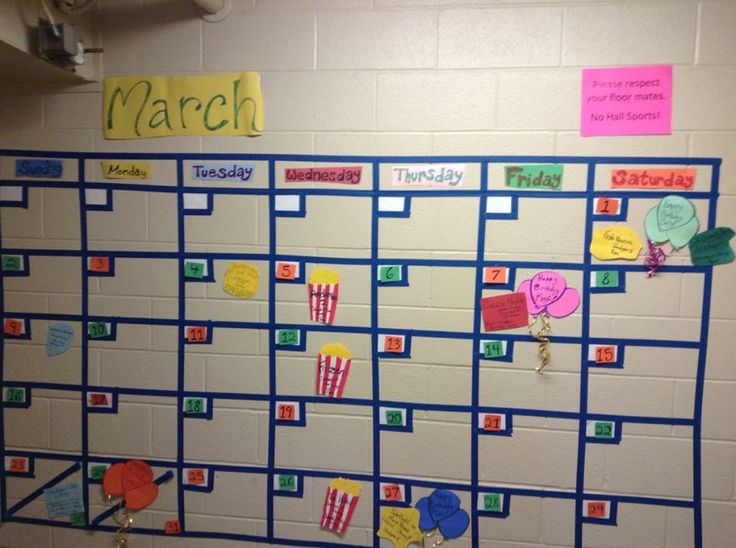 Calendar Ideas For Elementary : Best res life bulletin boards images on pinterest