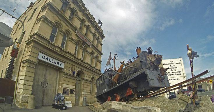 Oamaru: de Nieuw-Zeelandse Steampunk stad