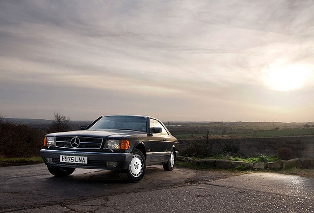 Mercedes 500SEC | Flickr - Photo Sharing!