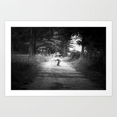 written words Art Print by RDPhotography - $16.00
