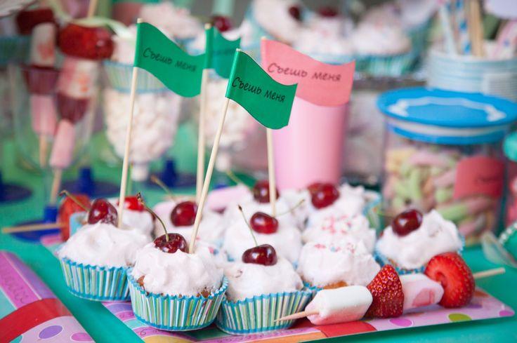 Bday maffins / Праздничные кексы