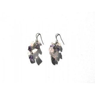 Ohrringe mit echten Steinen
