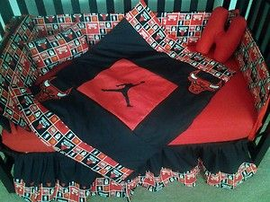 baby jordan crib set (My brother's would do this)