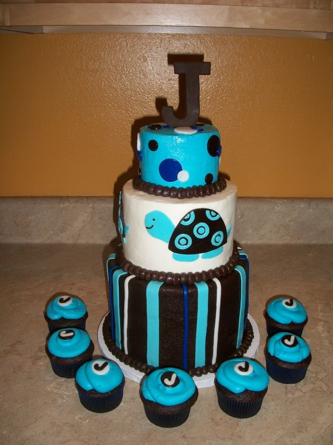 Cake For A Baby Boy