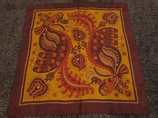 Authentic Vintage Hermes Scarf *Skyros* 1971