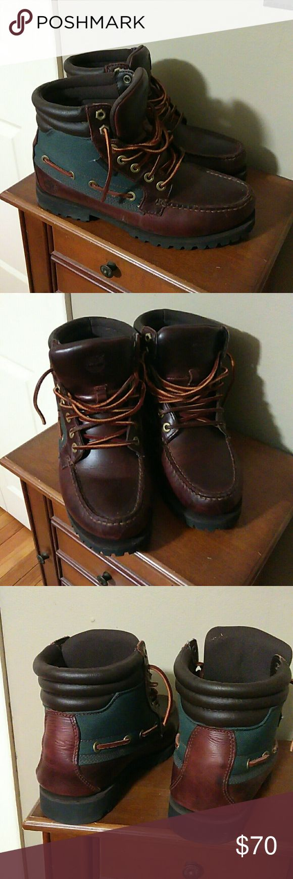 Timberland Chukka boots Men timberland chukka boot great condition.. no box... Runs a little big a wear size 8 and then fit perfect. Timberland Shoes Chukka Boots