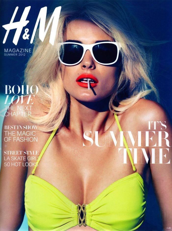 Summer...: Neon Bikinis, Summer 2012, Blonde, Style, Edita Vilkeviciute, Camillaakran, Red Lips, Fashion Photography, Camille Peers