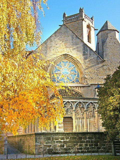 """PARRÒQUIA SANTA MARIA LA REAL D'OLITE (,""""Parish Church of Santa María la Real"""") Navarra  Spain"""