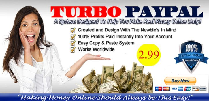 Turbo Paypal System 2014 | Turbo Paypal System Professional 2014 | Easy Paypal Money 2014 | 2013 Best selling products online