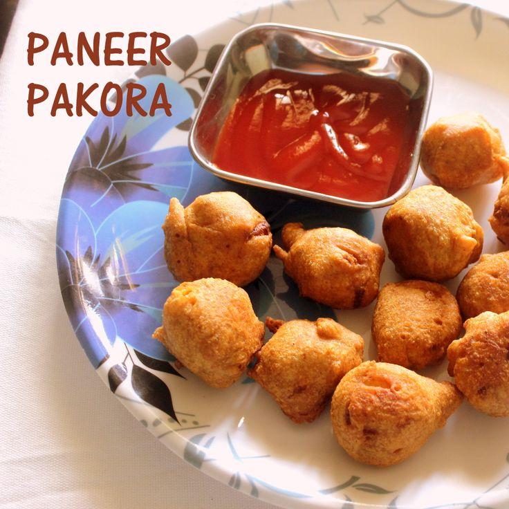 Paneer pakora recipe..  #northindian #snacks #paneerrecipes  http://charuscuisine.com/paneer-pakora-recipe-how-to-make-paneer-pakoda-recipe-easy-indian-snacks/