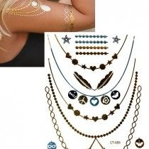 Arany tetoválás - pearl