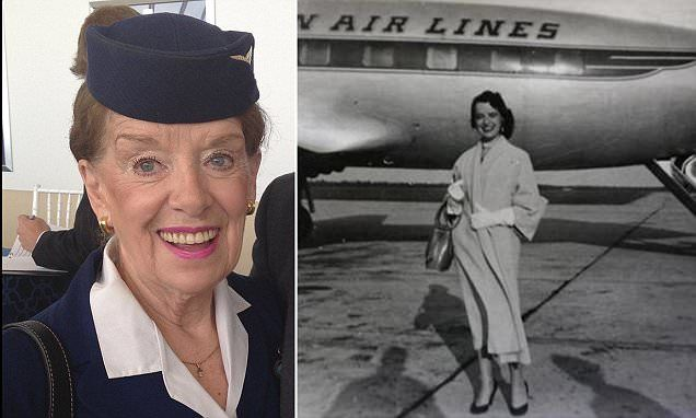 American Airlines 80 year old flight attendant has no plans to retire