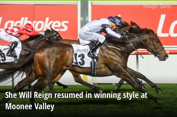 She Will Reign wins Moir Stakes Group 1 2017