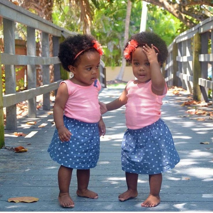 Black twin toddlers 2017