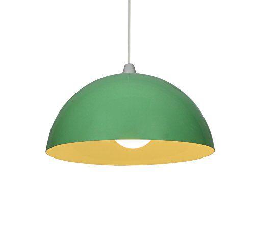 "14"" Green Metal Cylinder Dome Light Shade Lamp shade ceil... https://www.amazon.co.uk/dp/B00JQBBJ68/ref=cm_sw_r_pi_dp_x_AnEkybRHA2ZMV"