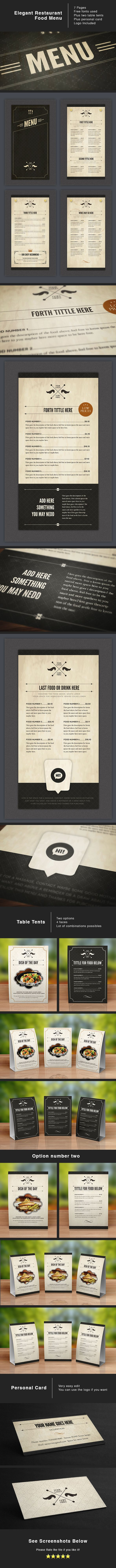 menu design http://www.behance.net/gallery/Design-Food-Stationery/7648133