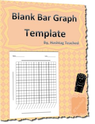 Blank Bar Graph Template from Hashtagteached from Hashtagteached on TeachersNotebook.com (2 pages)  - Blank Bar Graph Template Common Core Standards: 2.MD.D.10, 3.MD.B.3