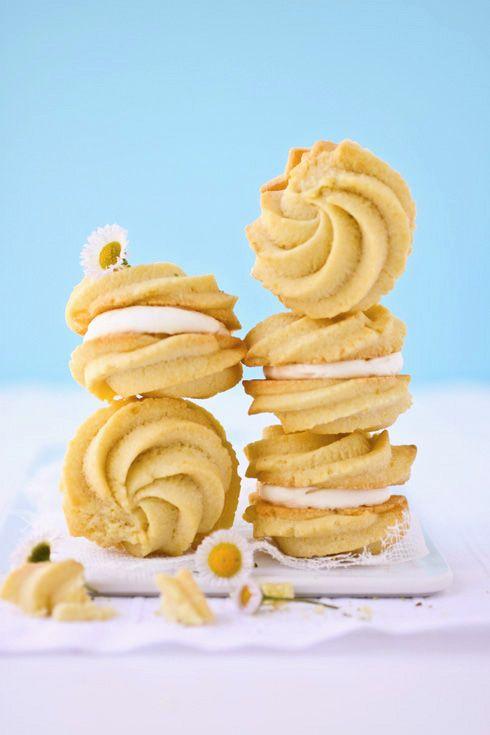 Lemon Cream Cookies:: Cannelle et Vanille