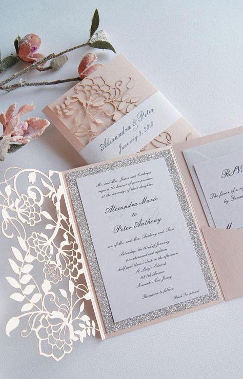 Hochzeitseinladungen selbst gestalten – 40 Ideen für Hochzeitskarten selbst gestalten
